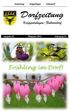 Dorfzeitung 2012 Pfingsten