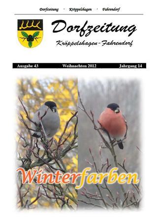 Dorfzeitung Winter 2012