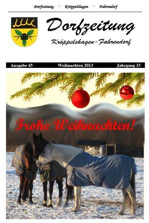 Dorfzeitung Winter 2013 1.Seite