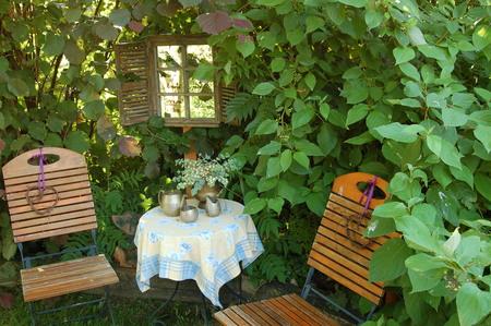 Ein Blick in den Garten von Margareta Benecke
