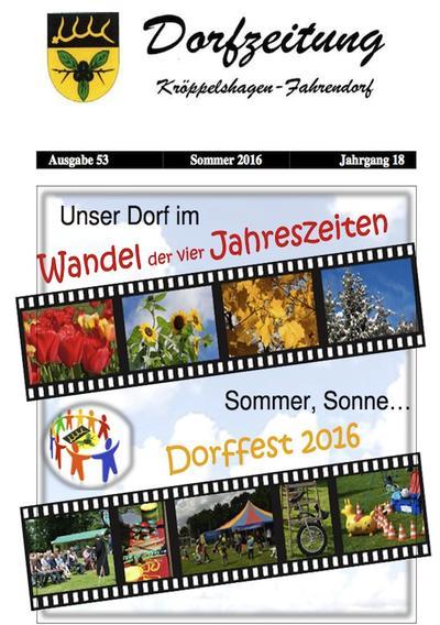 Dorfzeitung Sommer 2016