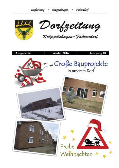 Dorfzeitung Winter 2016