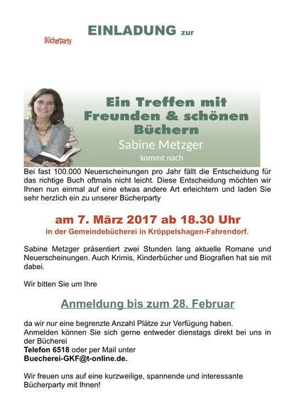 Bücherparty 2017