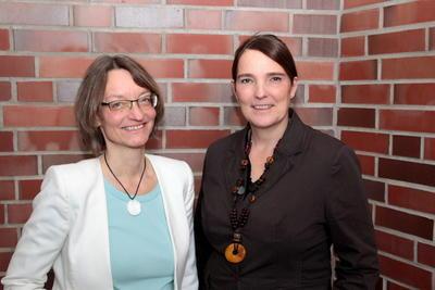 Nina Stiewink und Sandra Hansen