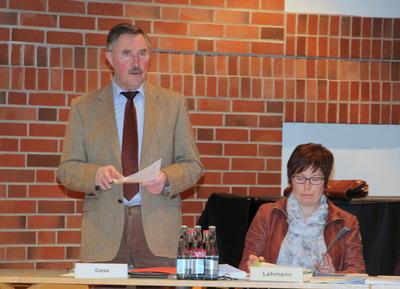 Amtsausschuss Vorsitz Giese Lehmann