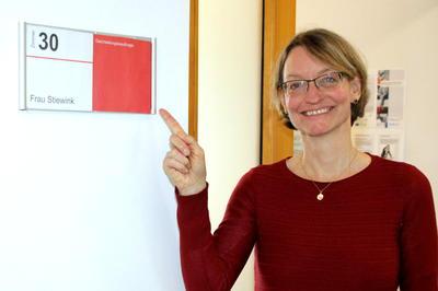 Gleichstellungsbeauftragte AHEG Nina Stiewink