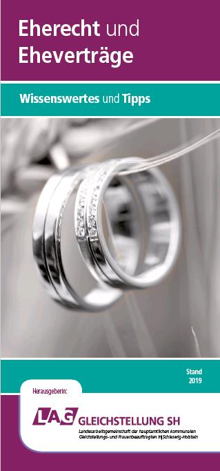 Eherecht und Eheverträge