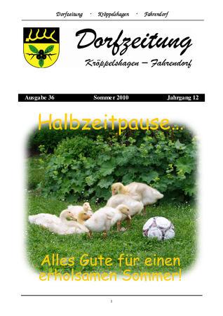 Dorfzeitung Sommer 2010