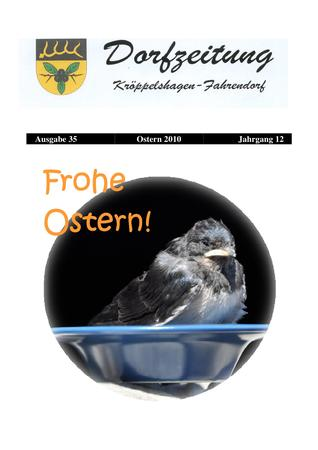 Dorfzeitung Ostern 2010