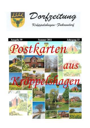 Dorfzeitung 2011 Sommer Titel