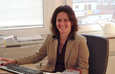 Amtsarchivarin Frau Dr. Mührenberg