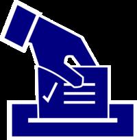 Wahlen Stimmzettel Urne