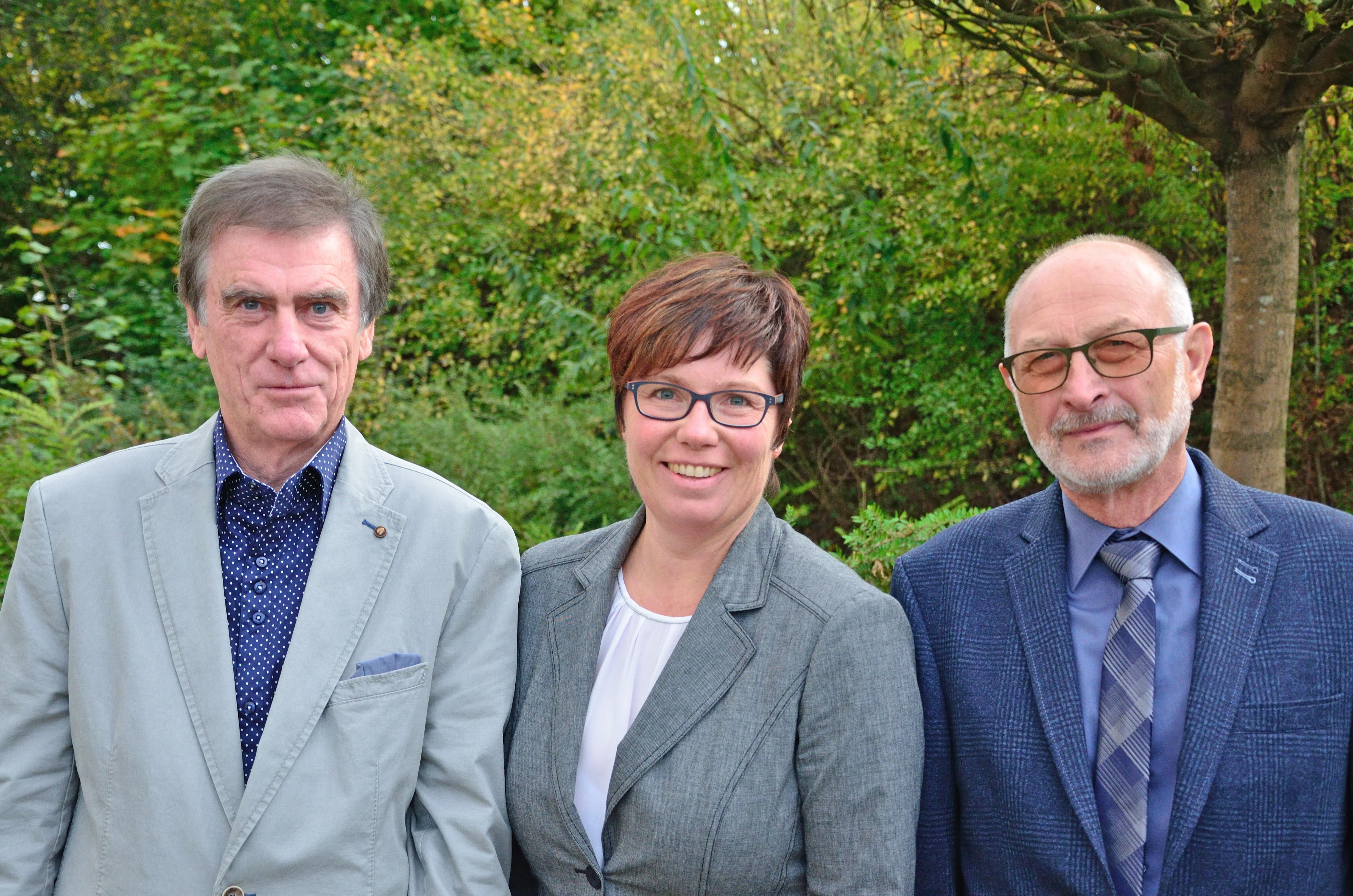 Amtsdirektorin Lehmann und ihre Stellvertreter Ziegelitz und Jahn